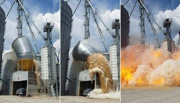 Stofexplosie